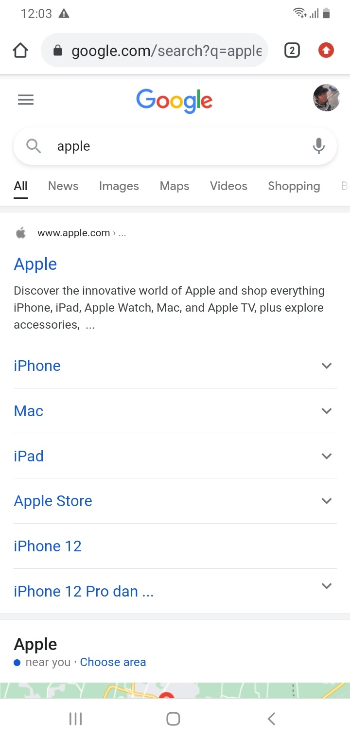 Keyword Apple